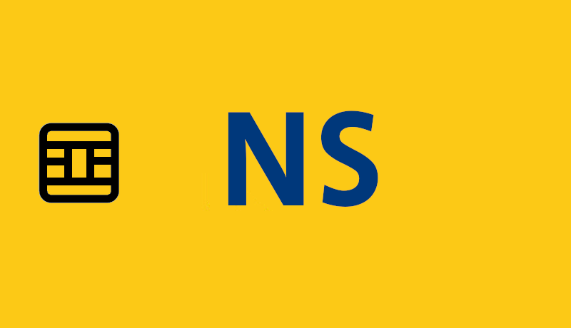 Smart card NS The Netherlands