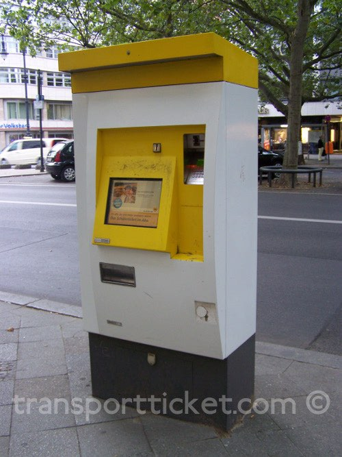 BVG ticket machine (2016)