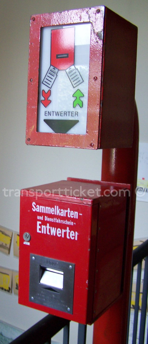 BVG validator (collection U-Bahn Museum Berlin)