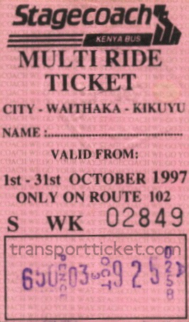 Multi Ride Ticket (1997)
