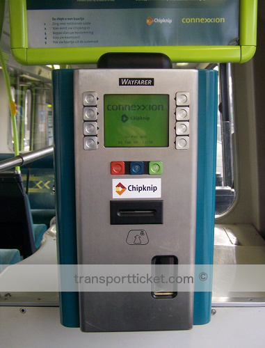 vending machine Connexxion tram (2009)