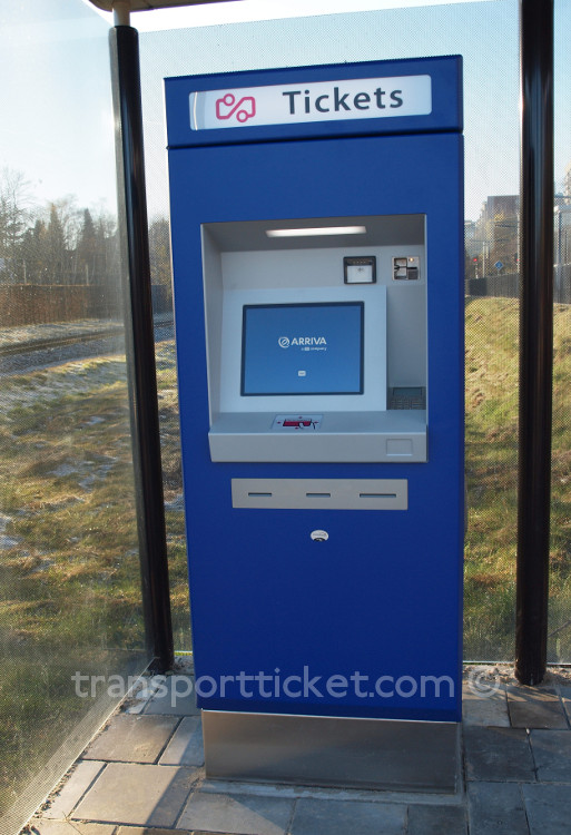 Arriva ticket machine (Landgraaf, 2016)