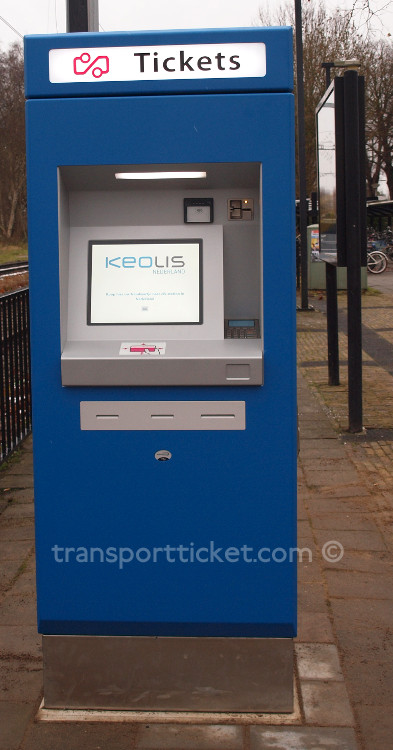Keolis ticket machine (Raalte, 2017)