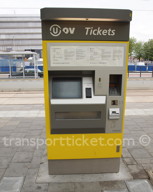 U-OV ticket machine (Utrecht, 2015)