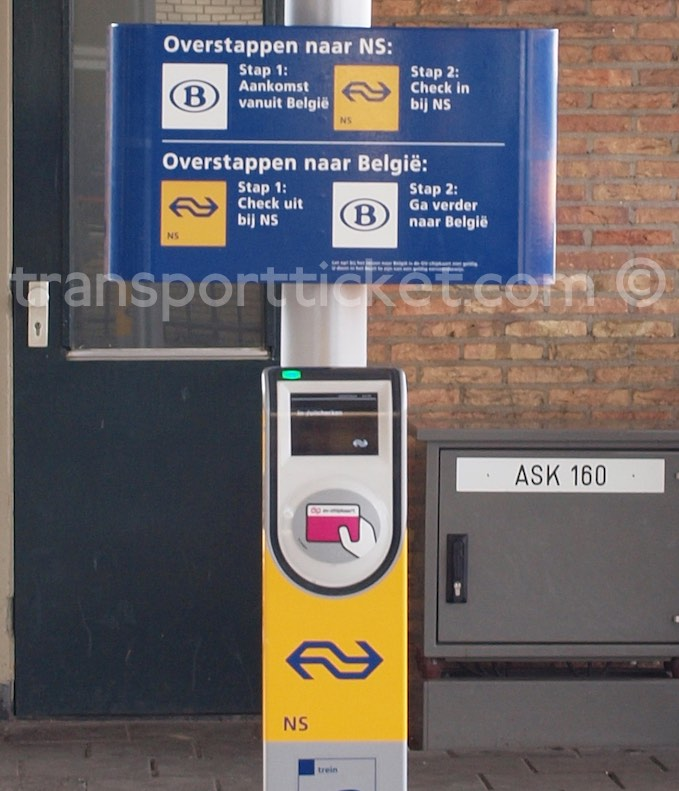 NS transfer point (Roosendaal, 2014)