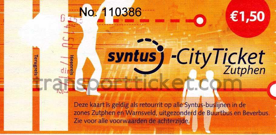 Syntus cityticket Zutphen