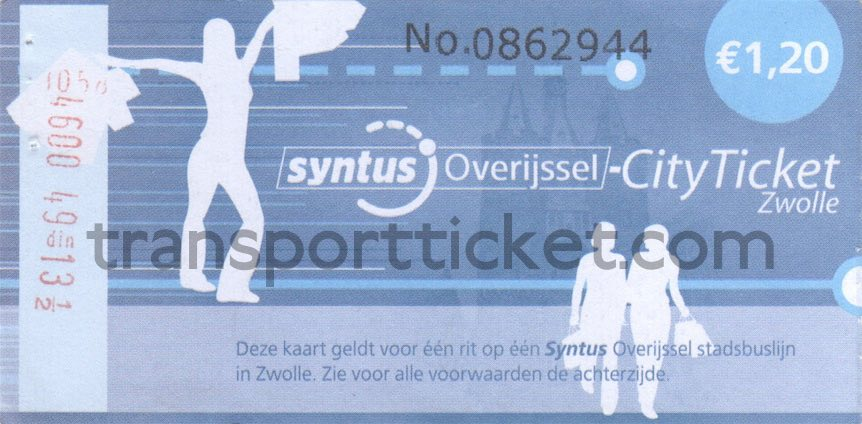 Syntus cityticket Zwolle