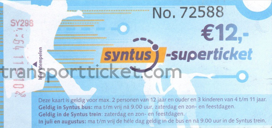 Syntus Superticket (2011)
