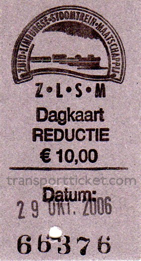 ZLSM dayrover, reduced fare (2006)