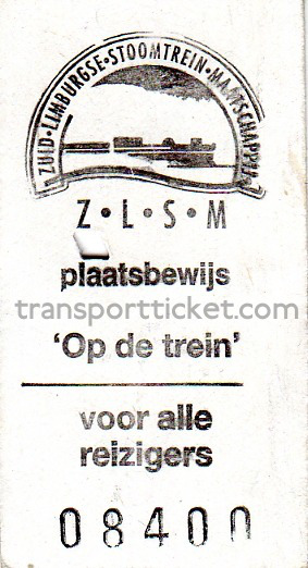 ZLSM train ticket