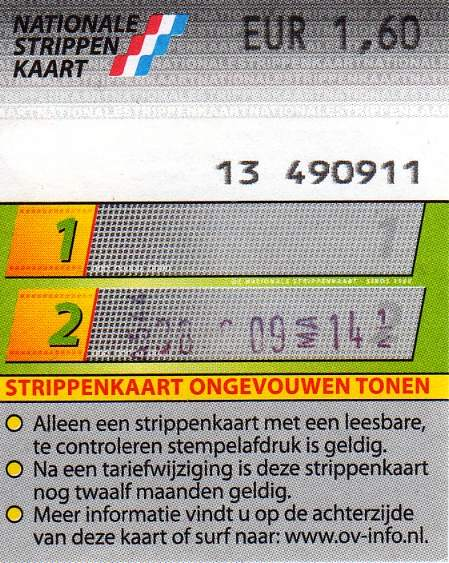 2-strip ticket