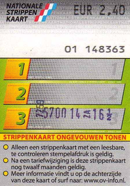 3-strip ticket